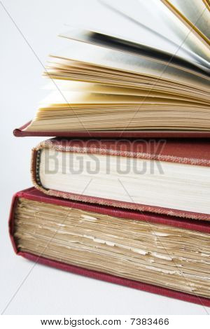 Stack of 3 Old Books