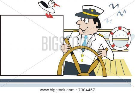 Cruising voyage cartoon