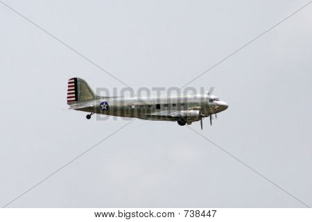 C-47 in Flight