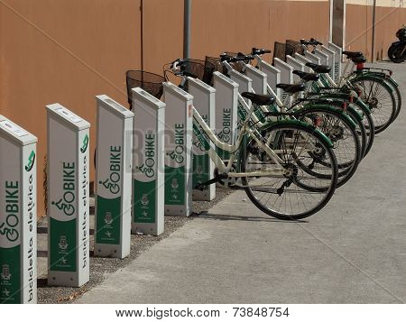 Bicycle Hire Stands, Siracusa