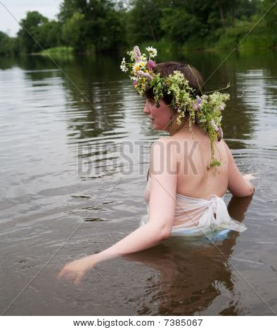 Girl In River