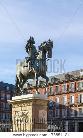 Statue Of King Philip Iii, Madrid