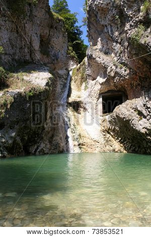Armenian Gorge In New Afon, Abkhazia