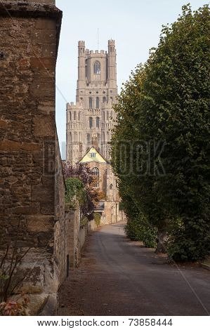 The West Tower, Ely Cathedral, Cambridgeshire