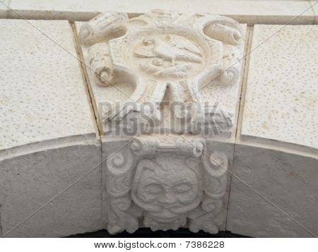 Marble Coat of arms.