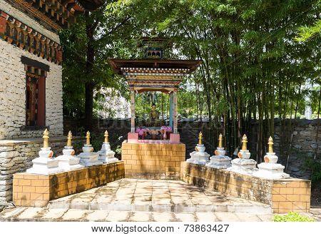 The Buddha Statue In Bhutan Pavilion