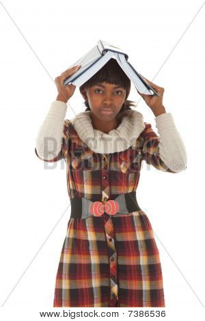 Student Holding Book