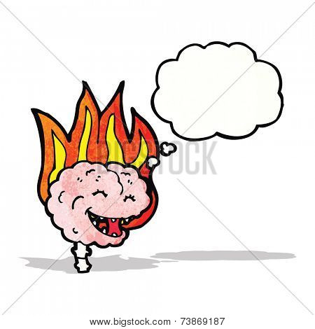 happy brain on fire