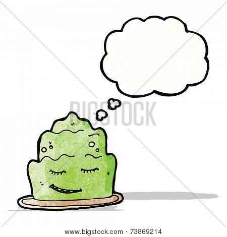 cartoon jelly dessert