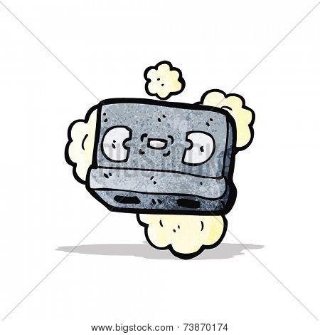 old video cassette cartoon