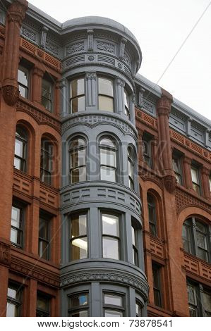 Historic Pioneer Square Building in Seattle, Wash.