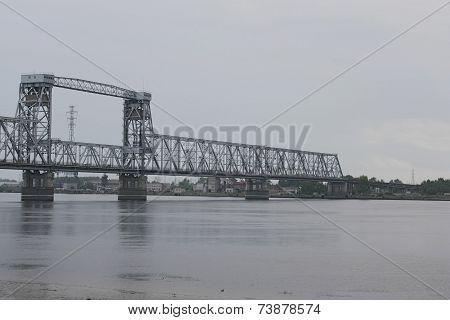 The Railway Bridge Over The River