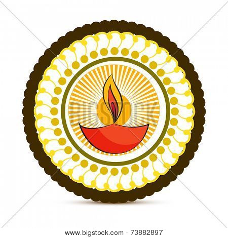 vector diwali diya illustration