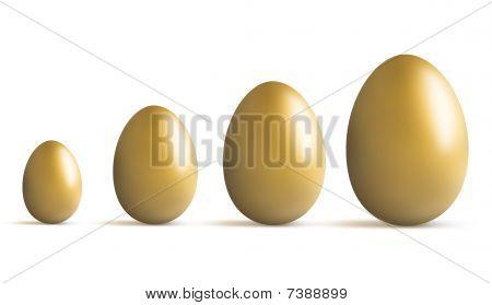 Golden Egg Growing