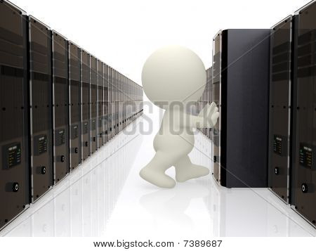 3D Person Pushing Server