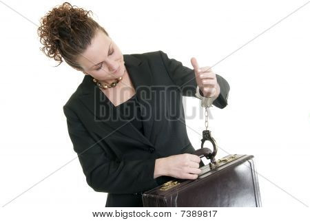 Chained To Her Work