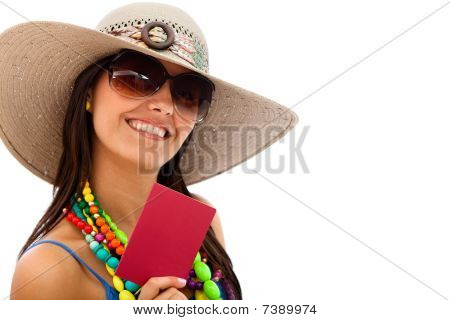 Woman Ready To Travel