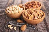 foto of walnut  - almond - JPG