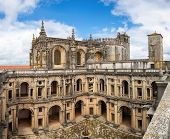 foto of templar  - Panorama of Knights of the Templar Convents of Christ Tomar - JPG