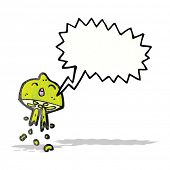 picture of squirt  - cartoon squirting lime - JPG