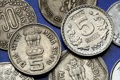 image of ashoka  - Coins of India - JPG