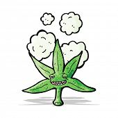 picture of marijuana leaf  - marijuana leaf cartoon character - JPG