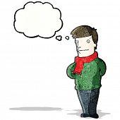 pic of average man  - sensible man cartoon - JPG