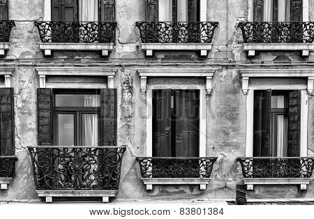 Venetian Windows, Italy