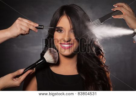 Beauty Treatment For Young Woman