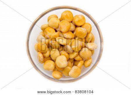 Lupini bowl on top