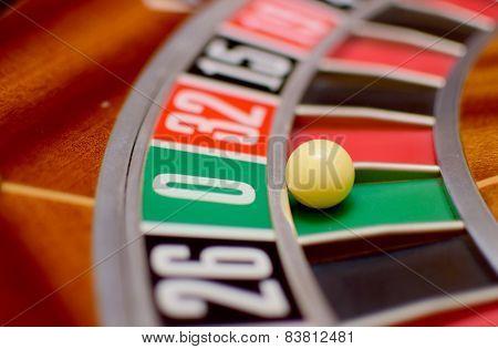 Number Zero Roulette