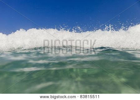 Sea Wave Waterline