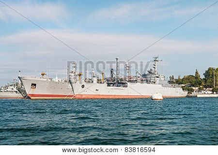 Yards And Docks Shipyard In Sevastopol