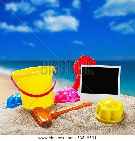 Toys For Children's Sandboxes