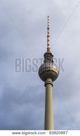 Berlin's Tv Tower (fernsehturm)