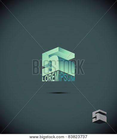 logo Business application icon. Vector illustration