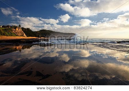 Reflections at low tide