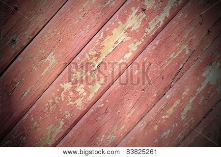 Reddish Wood Planks Texture