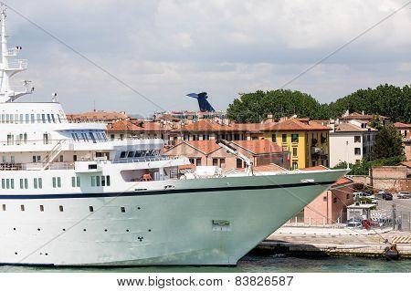 Yacht In Venice