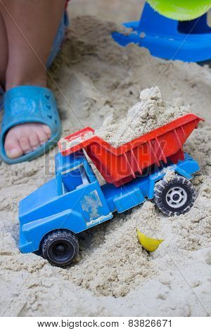 Children's Toy With Sand