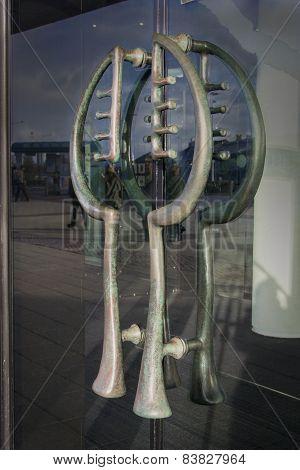 Wales Millennium Centre Door Handles