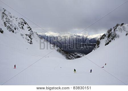 Rosa Khutor Alpine Ski Resort