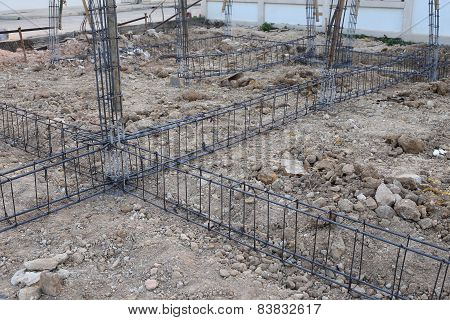 Reinforcing Steel Bars For Building Construction