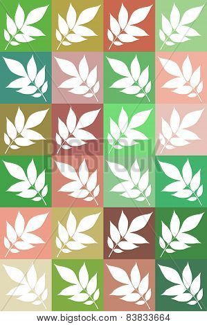 Template Of Ash Leaf
