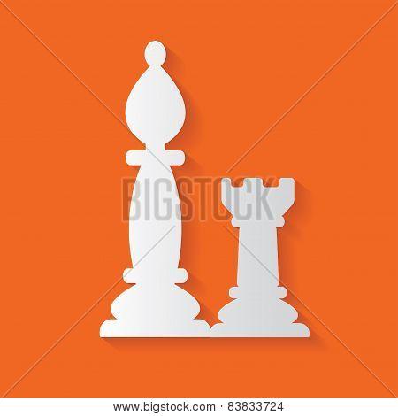 Chess symbol,vector