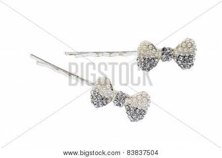 Hairpins With Crystals