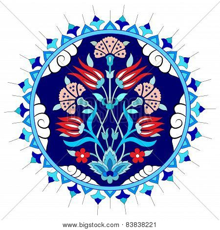 Artistic Ottoman Pattern Series Seventy