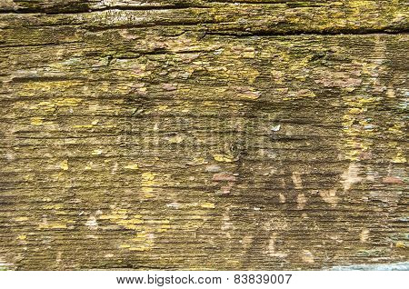 Old weathered grunge wooden board