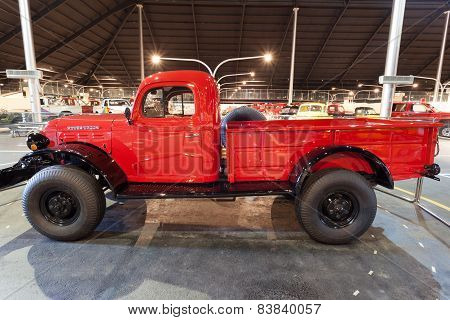 Dodge Power Wagon in the Museum