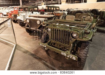 Jeep Willys Collection in Abu Dhabi